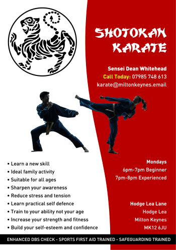 Shotokan Karate Classes