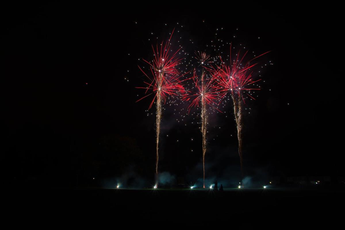 Annual fireworks display