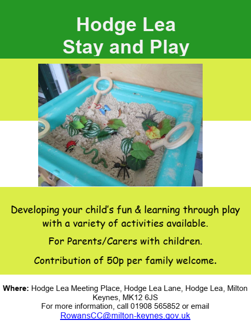 Hodge Lea Stay and Play Sessions