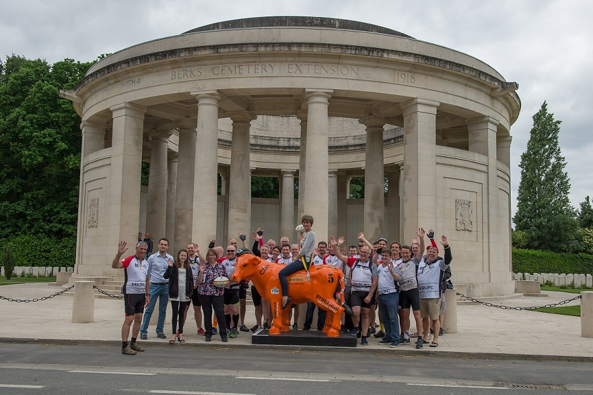 The Twinning Group with theBourgemeister of Ploegsteert