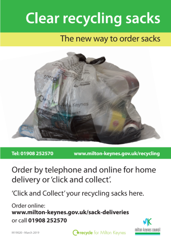 MK Council Ordering Recycling Sacks