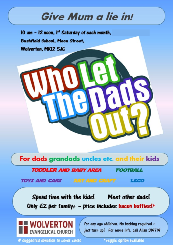 Who Let the Dad's Out poster