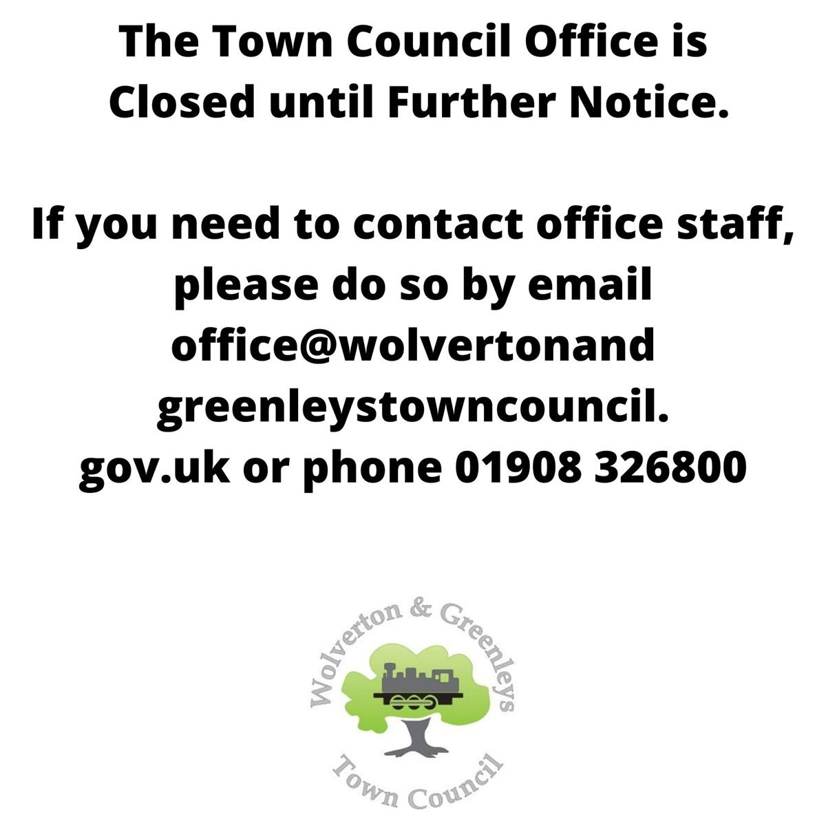 Town Hall Office Closure