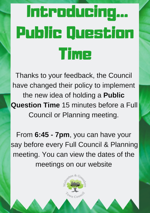 Public Question Time