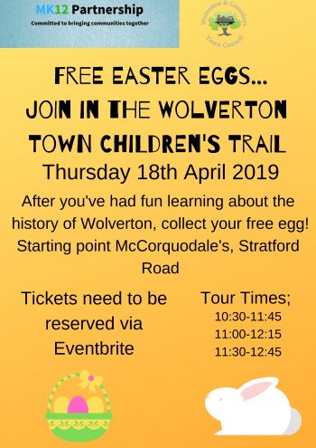 Free Easter Egg Hunt on the Town Trails