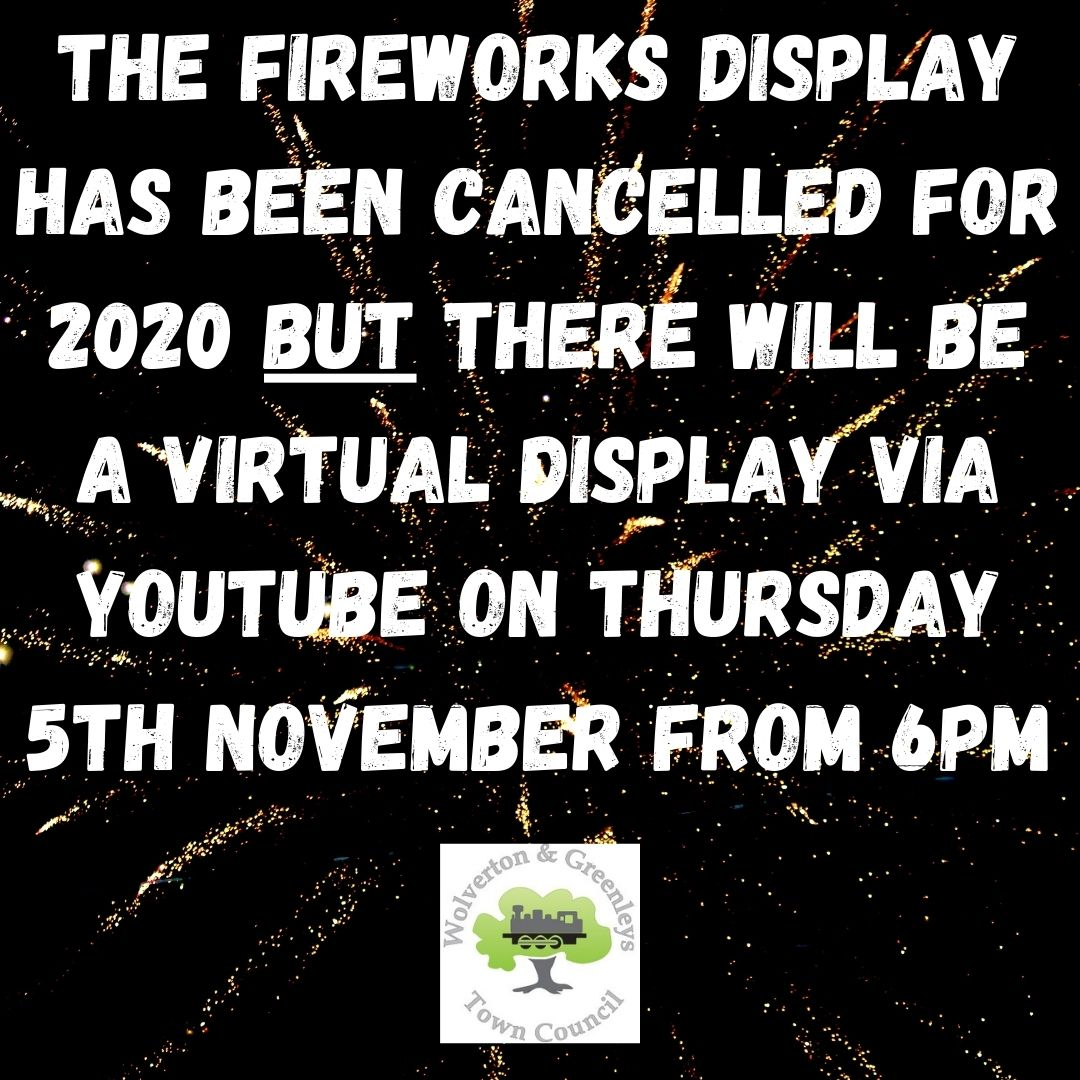 Virtual Fireworks Display 2020