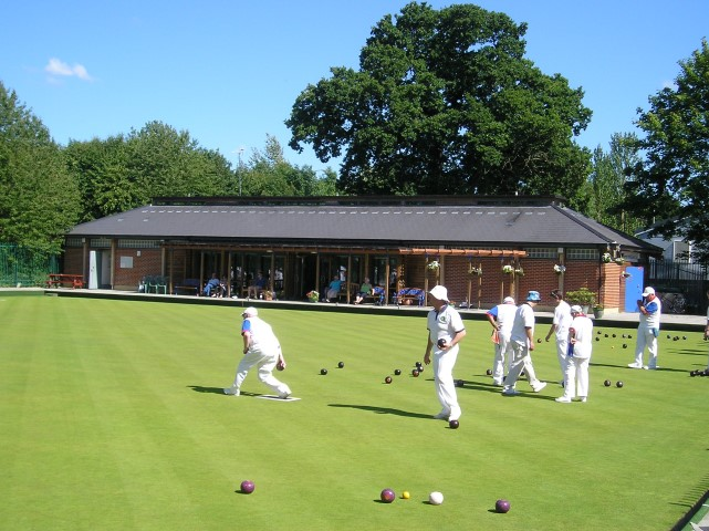 Wolverton Town Bowls Club in full swing