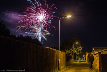 Wolverton Fireworks display