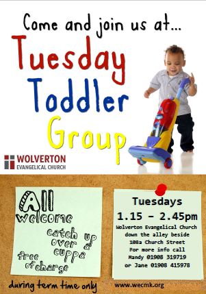Toddler group at the Church poster